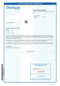 Acro Police Certificate >> Apostille On Criminal Records Check Express Apostille